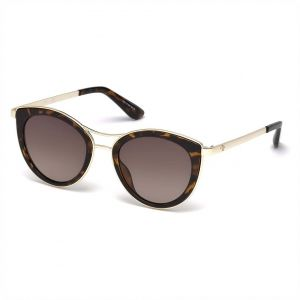 1be3f66140a Guess Oval Sunglasses for Women - Brown Lens