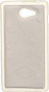 Ostar Back Cover for Sony Xperia M2, White