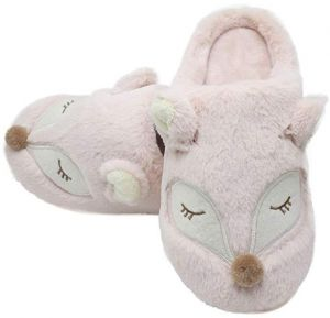 03b7964ea60 Animal Slippers for Women   Men Cotton slippers Warm Fur Cute House Ladies  Shoes Girls Slippers Indoor   Outdoor