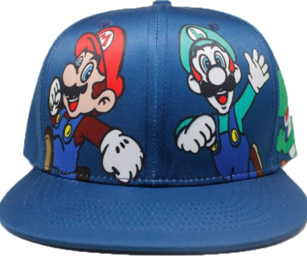 a0ff778371256 Blue Super Smash Bros Visor hat Super Mario Bros Mario Luigi Green dinosaur  Yoshi Baseball Cap For Unisex