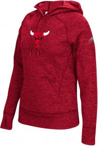 NBA Chicago Bulls Women s Team Logo Fleece Pullover Hoodie b1d3ac233