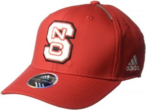 efd889cec25ae adidas NCAA North Carolina State Wolfpack Adult Men Coach s Structured  Flex