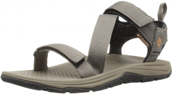 060937e5 Columbia Men's Wave Train Sport Sandal, Mud, Canyon Gold, 14 Regular US |  KSA | Souq