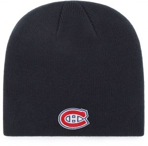 watch a59f4 4a9d4 OTS NHL Montreal Canadiens Beanie Knit Cap, Navy, One Size