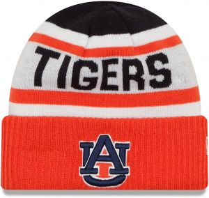 99ad332e0d8 New Era NCAA Auburn Tigers Biggest Fan 2.0 Cuff Knit Beanie