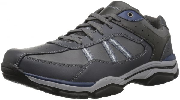 27cba9afc0f13 Skechers USA Men's Men's Relaxed Fit-Rovato-Texon Oxford,11.5 M US ...
