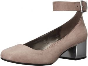 892e28e0b03b Kenneth Cole REACTION Women s Flip Around Round Toe Ankle Strap Dress Pump