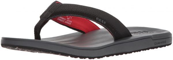 1466f02de806 Reef Men s Contoured Cushion Sandal