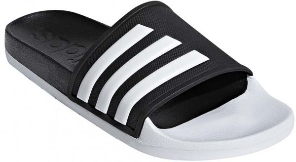 f31f09a335f5 adidas Adilette TND Flat Sandals for Women - Core Black FTWR White ...