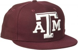 online store e32b6 5d467 New Era NCAA Texas A M Aggies Logo Grand Fitted 59Fifty Cap, Size 7.125,  Maroon