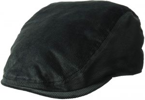 new style f3411 f63a0 Kangol Men s Cord Flat Ivy Cap HAT, Forrester, S