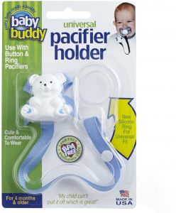 Baby blue Universal Pacifier Holder