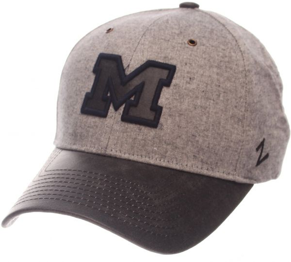 low priced fecd6 4b6d4 NCAA Michigan Wolverines Adult Men The Supreme Cap, Adjustable, Gray   KSA    Souq