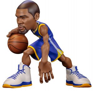 fc038be324a ICONai Small-Stars KEVIN DURANT 11-inch Smart Collectible NBA Figure (LESS  THAN 500 FIGURES PRODUCED Golden State Warriors Icon Edition Jersey NBA  2017-18) ...
