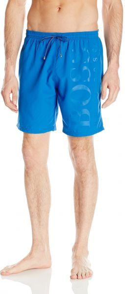 58e8d1e59 Hugo Boss BOSS Men's Orca Solid Swim Trunk, Deep Blue, Small | Souq ...