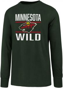 outlet store 14136 c9d69 OTS NHL Minnesota Wild Men s Rival Long sleeve Tee, XX-Large, Dark Green