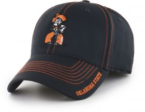 560c218b9f104 OTS NCAA Oklahoma State Cowboys Adult Start Line Center Stretch Fit Hat