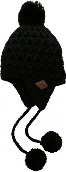2e66714cd88 NEFF Women s Amy Cable-Knit Earflap Beanie With Pom