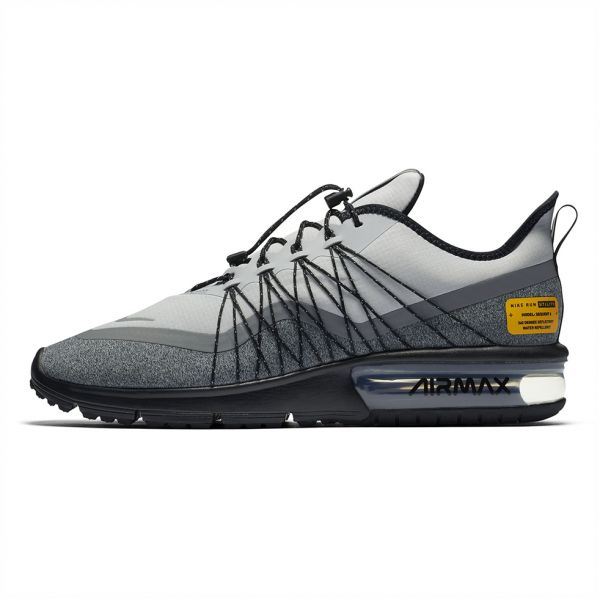 c8b5af36a4 Nike Air Max Sequent 4 Utility Running Shoes for Men - Wolf Grey ...