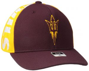 7f9bd9708bfe67 adidas NCAA Arizona State Sun Devils Men's City Structured Flex with  Meshback, Maroon, Large/X-Large