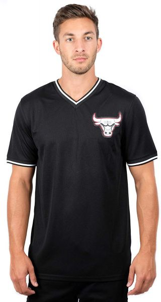 2c0ee7a9eed97 UNK NBA NBA Men s Chicago Bulls Jersey T-Shirt V-Neck Air Mesh Short ...
