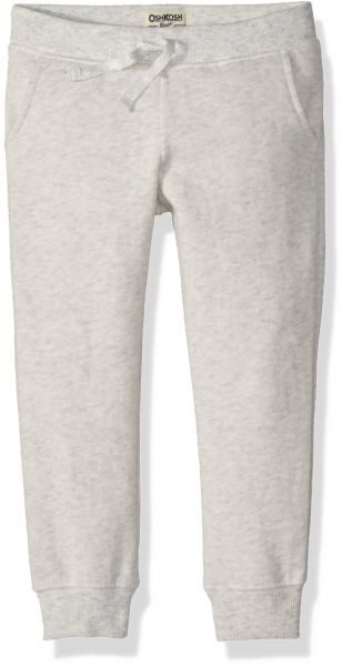 603e09abb Osh Kosh Girls' Kids Jogger Pants, Grey Heather, 8 | KSA | Souq