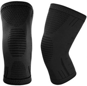 317f82b145 1 Pair Breathable Adjustable knee pad grip knee Brace Support Compression  Sleeves Wraps Pads for Arthritis Running Pain Relief Injury Recovery ...