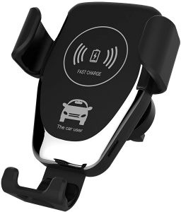 Fast Wireless Car Charger Gravity Design Car Charger Mount 10w Qi Fast Wireless Charging Compatible Iphone X Xs Xs Max Xr 8 8 Plus 7 7 Plus Galaxy S9 S9 Plus Note 9 S8 S8 Plus Buy Online Chargers At Best Prices In