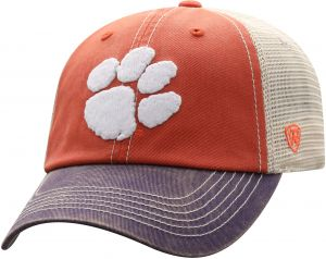best sneakers c7825 66211 Top of the World NCAA Off Road Adjustable Cap, One Size, Orange Stone