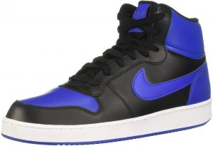 beneficioso borde Implacable  Nike Ebernon Mid Basketball Shoes for Men (BLACK/GAME ROYAL-WHITE - 7) :  Buy Online Athletic Shoes at Best Prices in Egypt | Souq.com