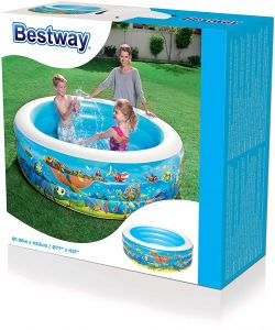 Bestway 51122 Inflatable Swimming Pool For Kids