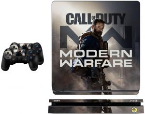 Ps4 Slim Call Of Duty Modern Warfare Skin For Playstation 4 Buy Online Skins Decals At Best Prices In Egypt Souq Com