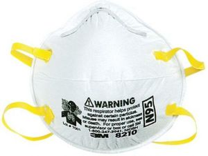 Dust 3m White Size Respirators Pieces Buy Mask By 4 - And One