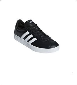 adidas Vl Court 2.0 Two Tone 3 Stripe Low Top Lace Up