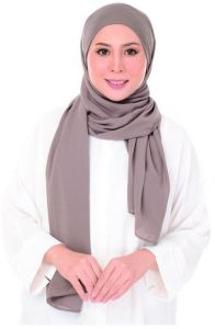 Islamic Chiffon Hijab Scarves Veil Khimar Malaysian Khaki Buy Online Ethnic Traditional Wear At Best Prices In Egypt Souq Com