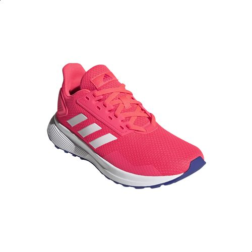 Empotrar semiconductor ellos  Adidas Duramo 9 Side-Stripe Lace-up Mesh Running Sneakers for Kids - Signal  Pink and Ftwr White, 38 : Buy Online Athletic Shoes at Best Prices in Egypt  | Souq.com
