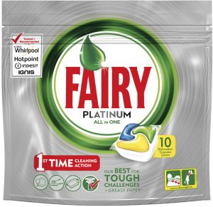 fairy platinum all in one dishwasher capsules with lemon scent 10 capsules buy online cleaning products at best prices in egypt souq com fairy platinum all in one dishwasher capsules with lemon scent 10 capsules