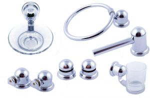 Bathroom Accessories Set Silver Buy Online Bathroom Accessories At Best Prices In Egypt Souq Com