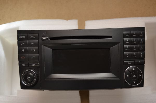 oem mercedes e class w211 radio audio 20 cd player head. Black Bedroom Furniture Sets. Home Design Ideas