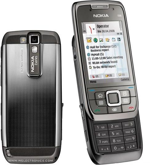 Nokia E66 (110 MB, WiFi 3G, Grey, [English/Arabic])