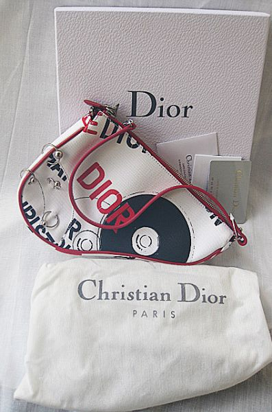 3ae6bdc63e82 Christian Dior Limited Edition Hardcore Saddle Bag