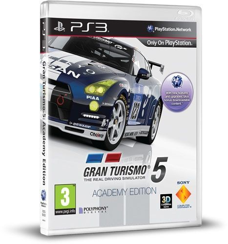 Gran Turismo 5: Academy Edition  By Sony,Playstation 3