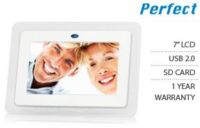 Perfect 7 Digital Photo Frame Model PF 701