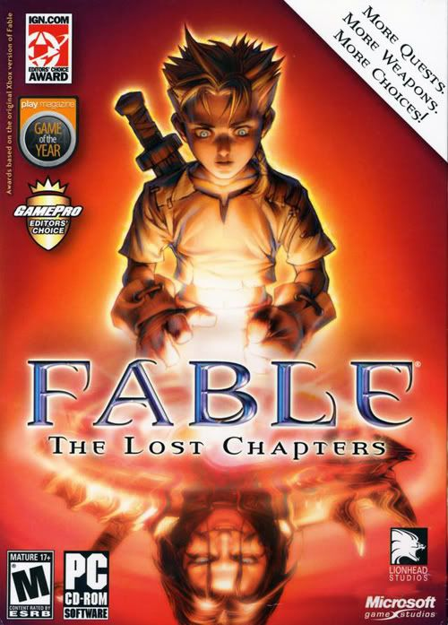 Fable The Lost Chapter by Microsoft - PC by Microsoft - PC